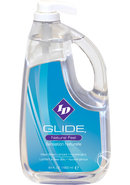 Id Glide Natural Feel Water Based Lubricant Pump 64 Ounces