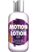 Motion Lotion Elite Waterbased Flavored Body Glide Passion...
