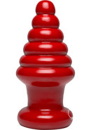 American Bombshell Destroyer Anal Plug Red 8 Inch Long...