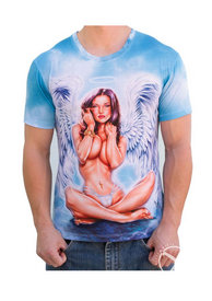 Angel Girl Mens T Shirt - Xxl