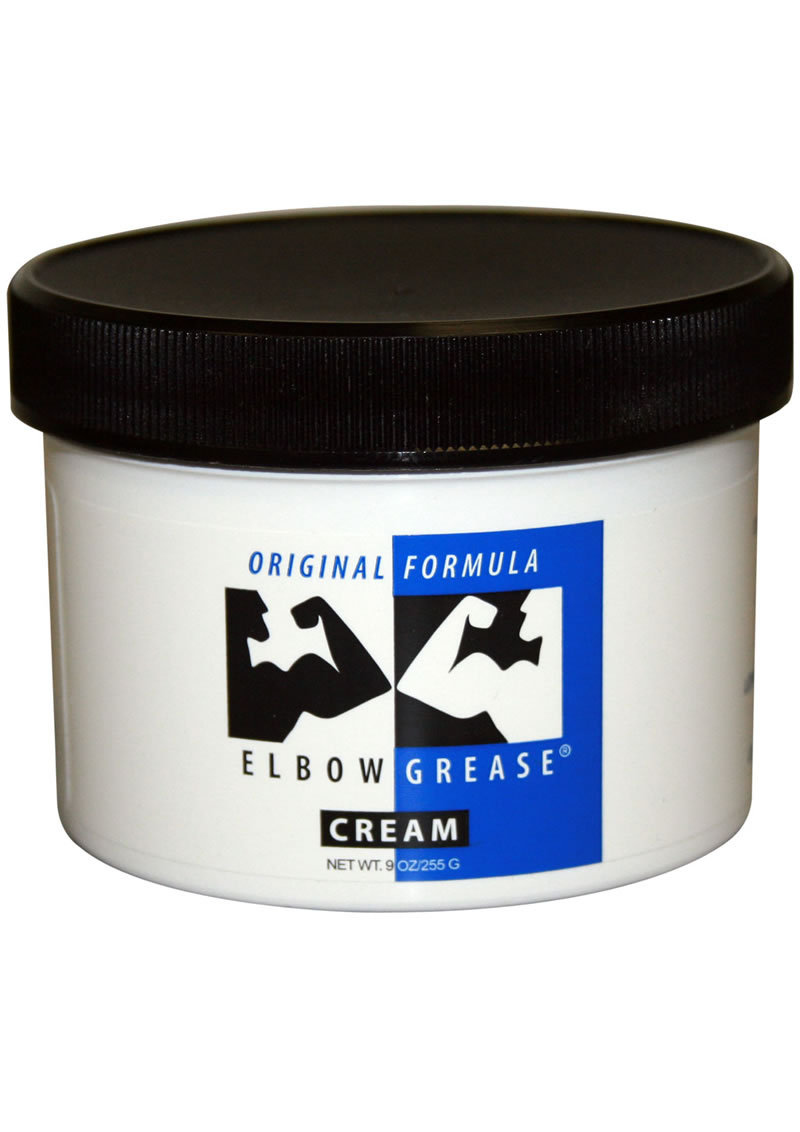 Elbow Grease Original Oil Cream Lubricant 9oz