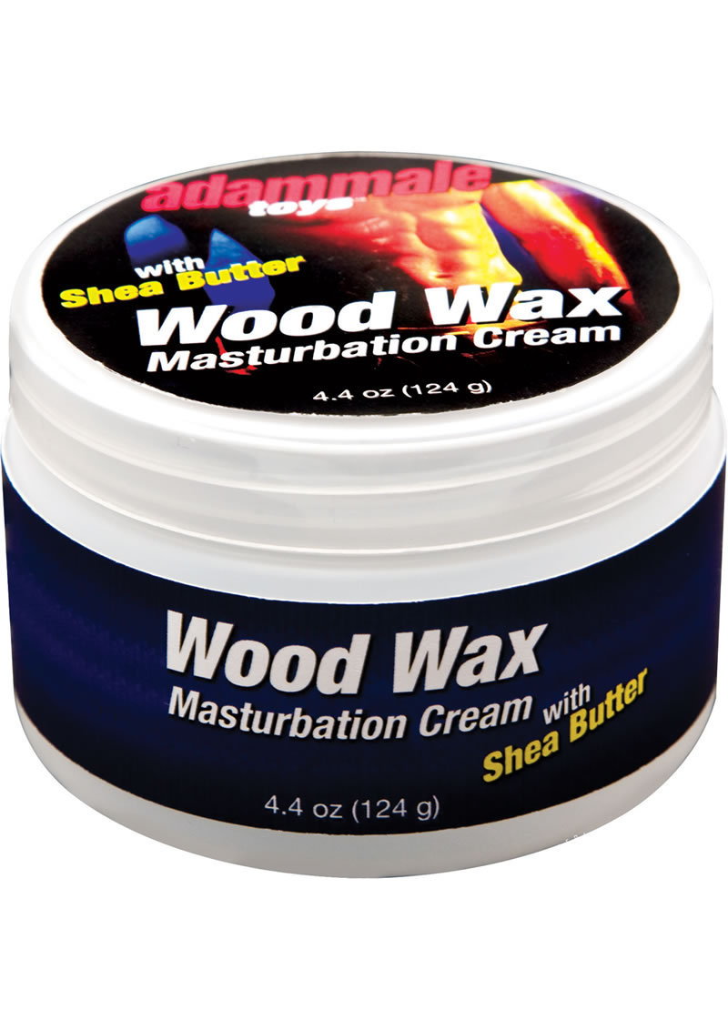 Adam Male Wood Wax Masturbation Cream 4.4 Ounce