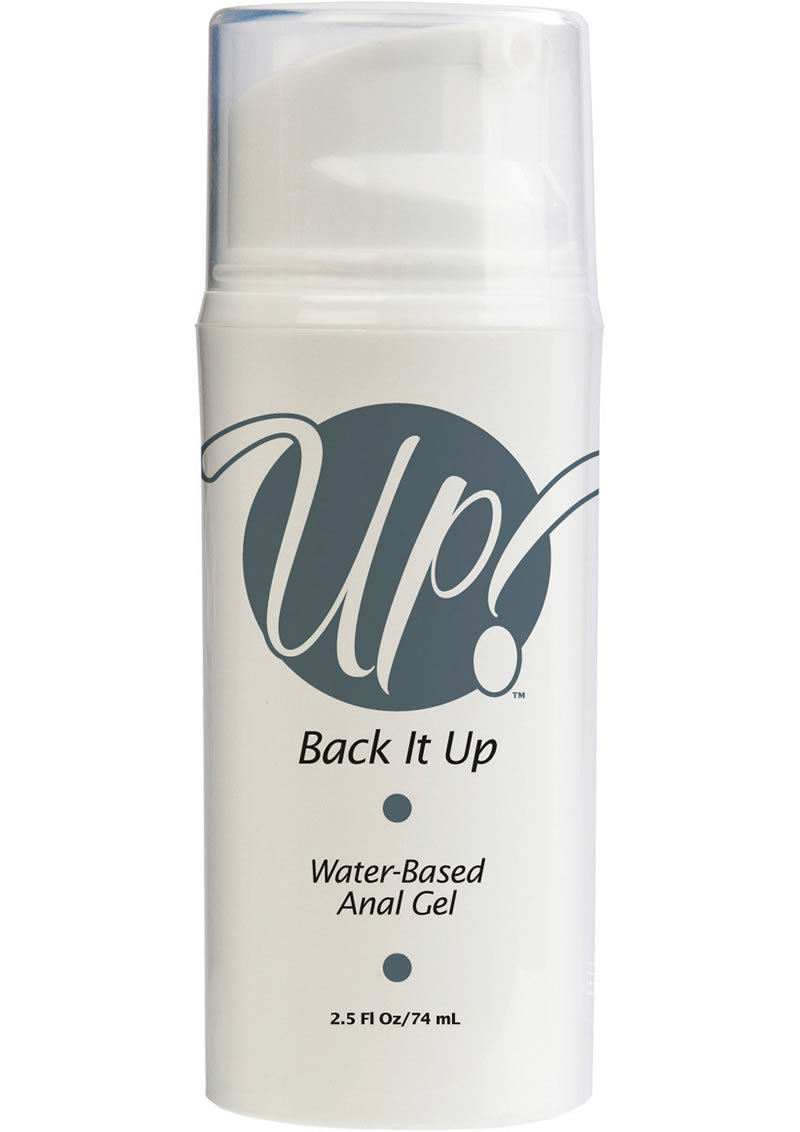 Up Back It Up Water Based Anal Gel 2.5 Ounce