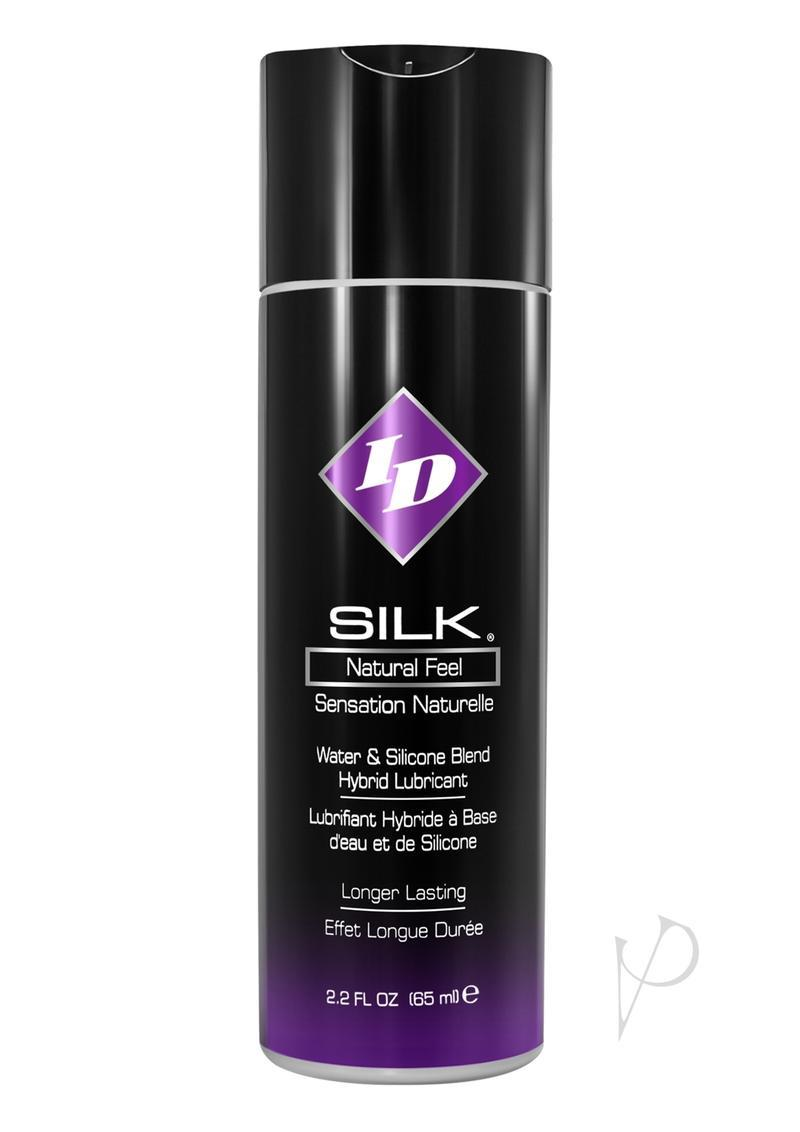 Id Silk Natural Feel Water Based Blend Lubricant 2.2 Ounce Bottle