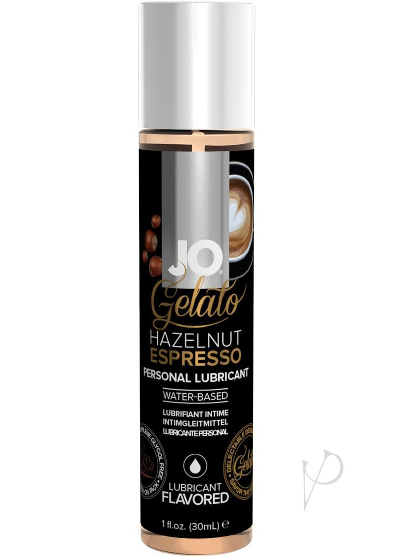 Jo Gelato Water Based Personal Lubricant Hazelnut Espresso 1 Ounce Bottle
