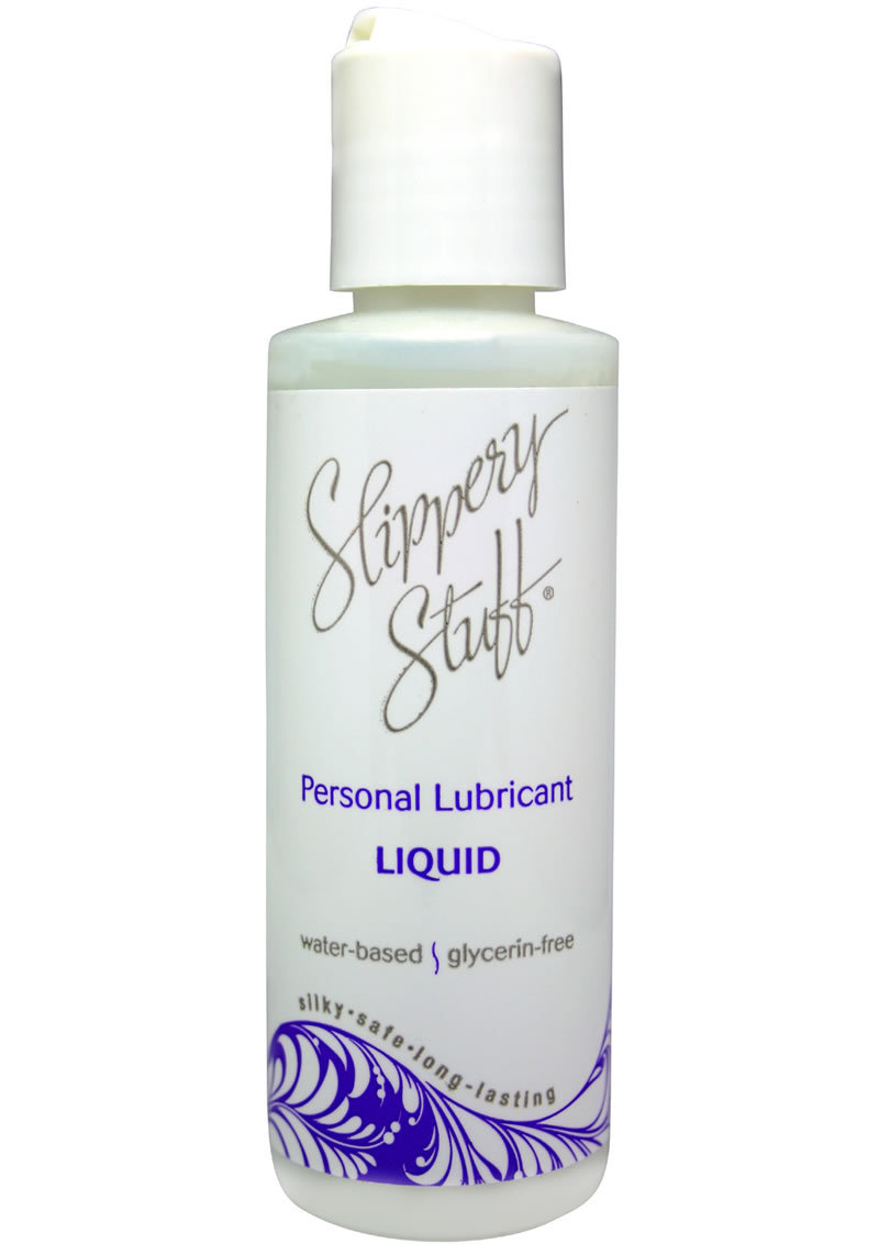 Slippery Stuff Liquid Water Based Lubricant 4 Ounce